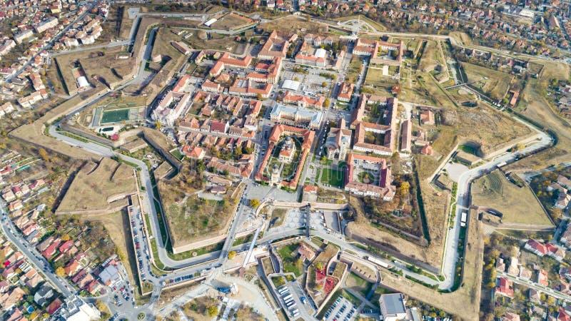 Alba крепость Каролины средневековая стоковые фотографии rf