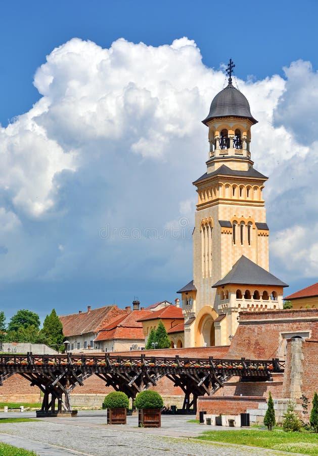 Alba крепость iulia стоковые фото