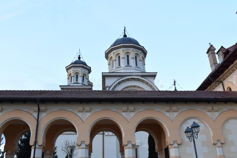 Alba собор коронования Iulia стоковая фотография