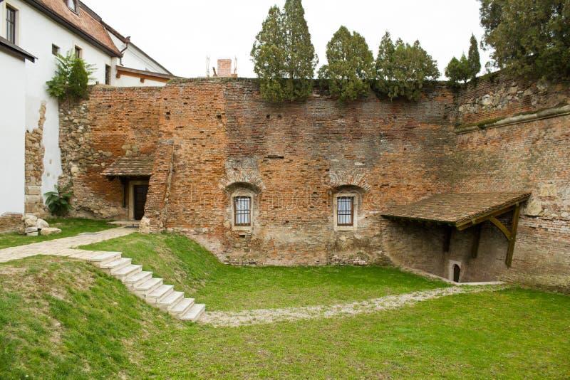alba carolina citadel arkivfoto