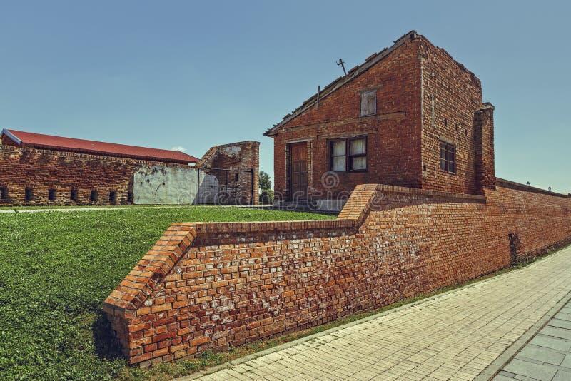 Alba Carolina Fortification royaltyfria foton