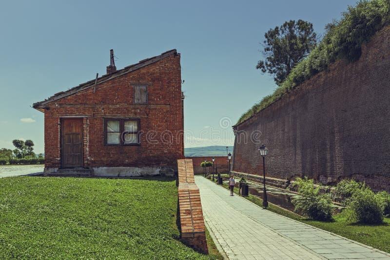 Alba Carolina Fortification foto de stock royalty free