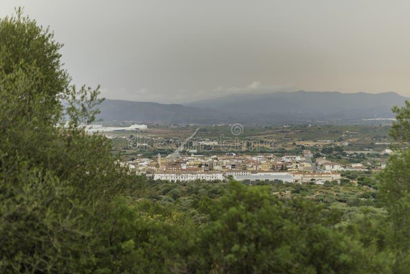 ` Alba Castellon, España de Val d imagen de archivo