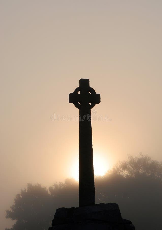 Alba celtica fotografie stock libere da diritti