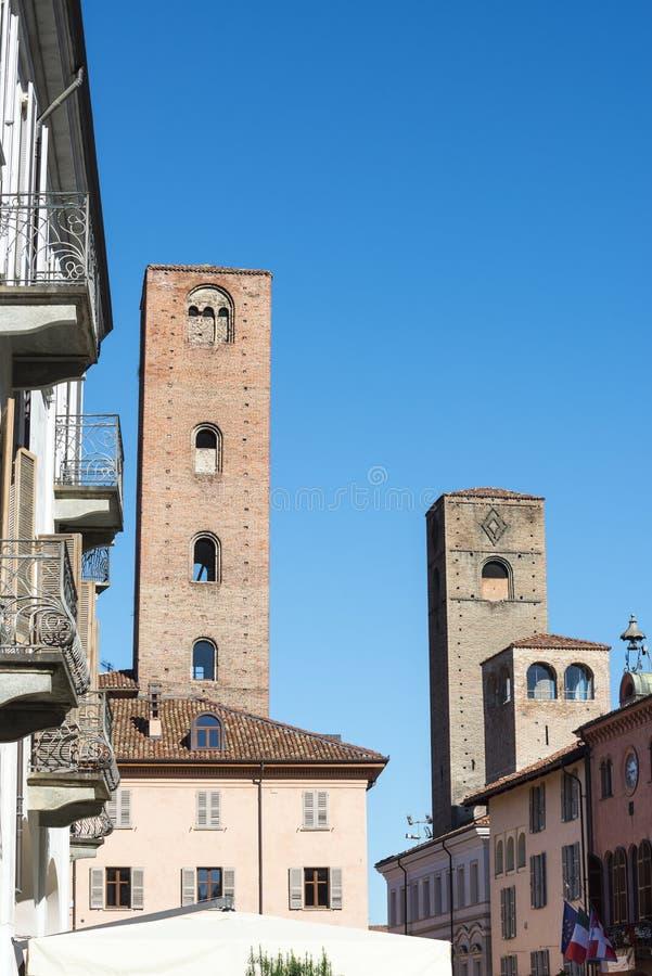 Alba (Cuneo, Itália) imagem de stock royalty free