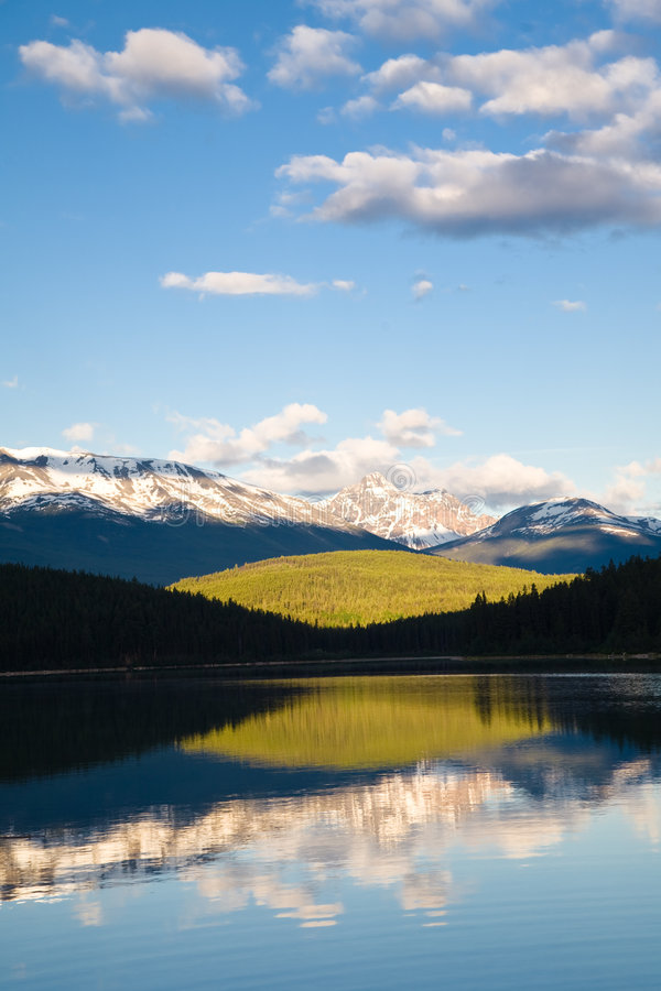 Alba del lago patricia fotografie stock