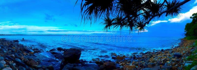 Alba del parco nazionale di Noosa fotografia stock libera da diritti