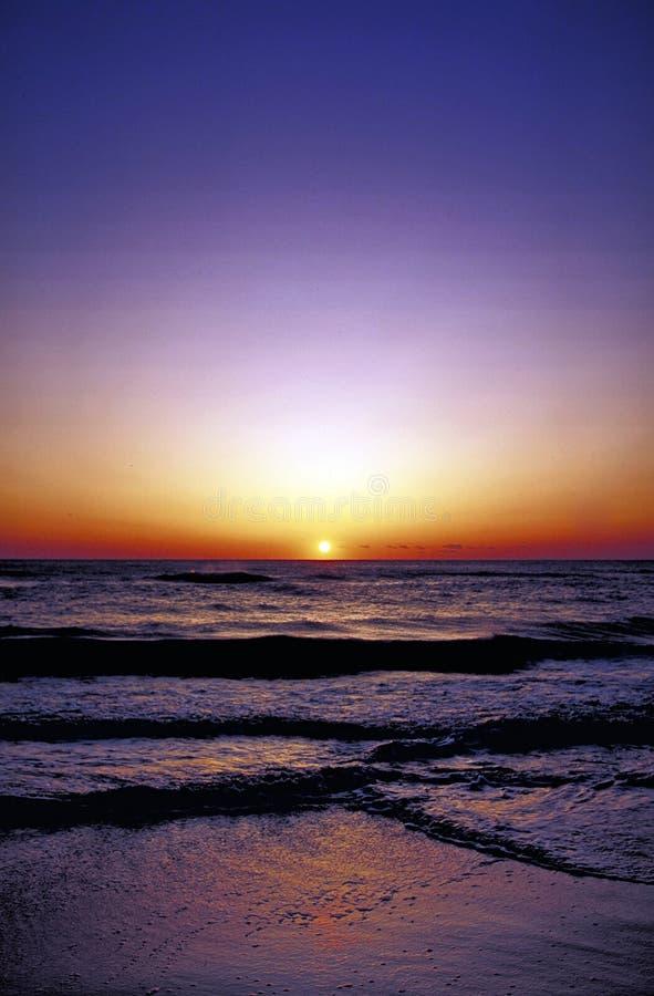 Alba dell'oceano fotografie stock