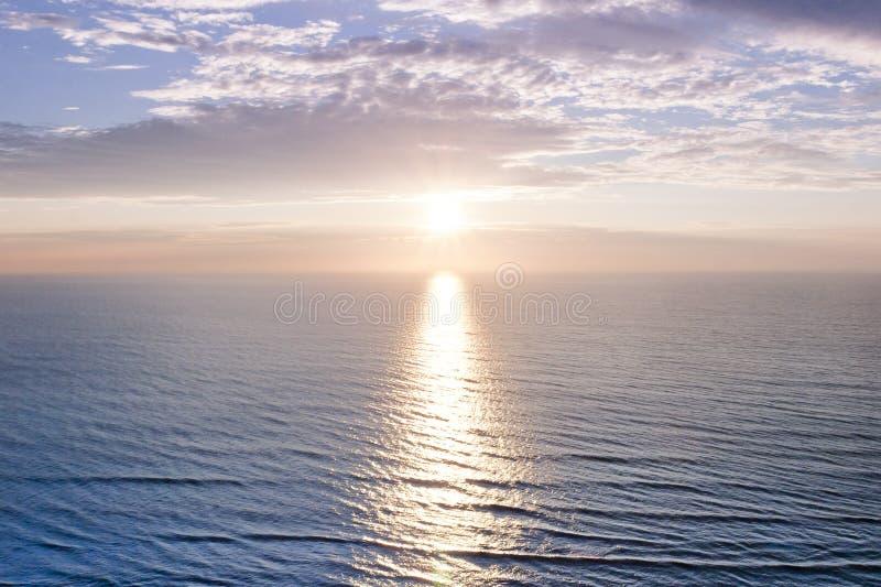 Alba Dell Oceano Fotografie Stock Libere da Diritti
