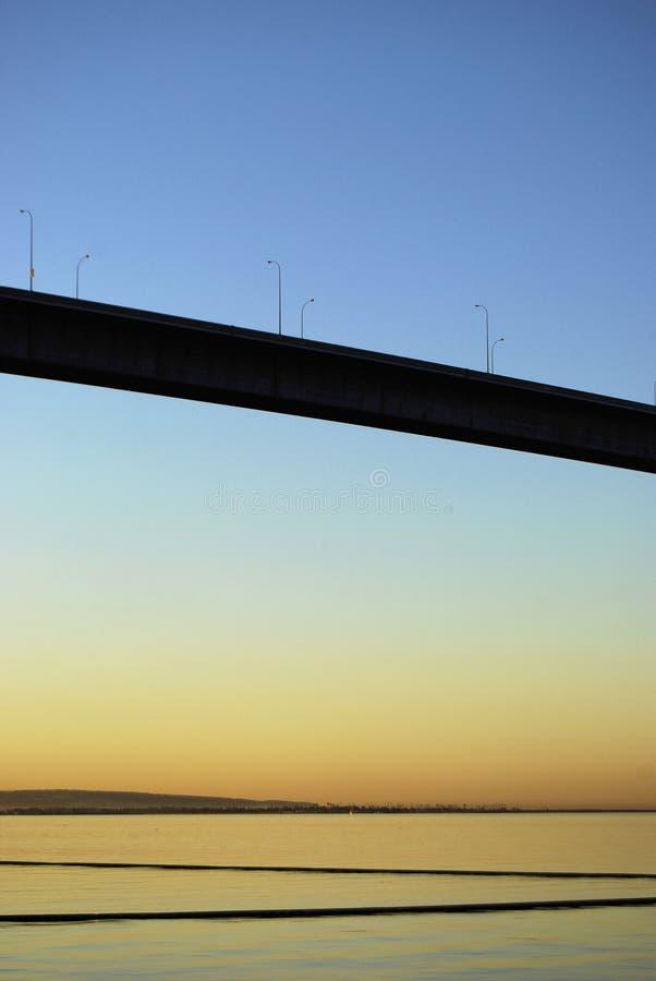 Alba della baia di San Diego immagine stock libera da diritti