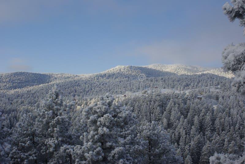 Alba 4 della montagna fotografia stock libera da diritti