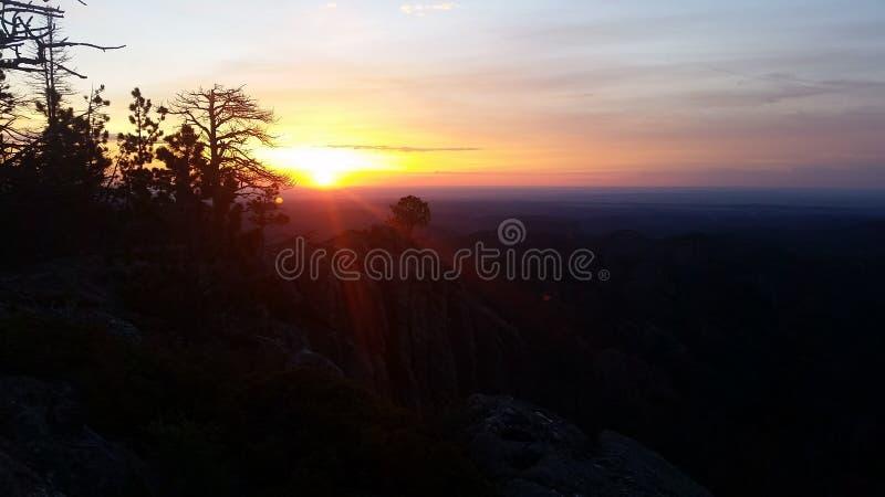 Alba di Black Hills fotografie stock libere da diritti