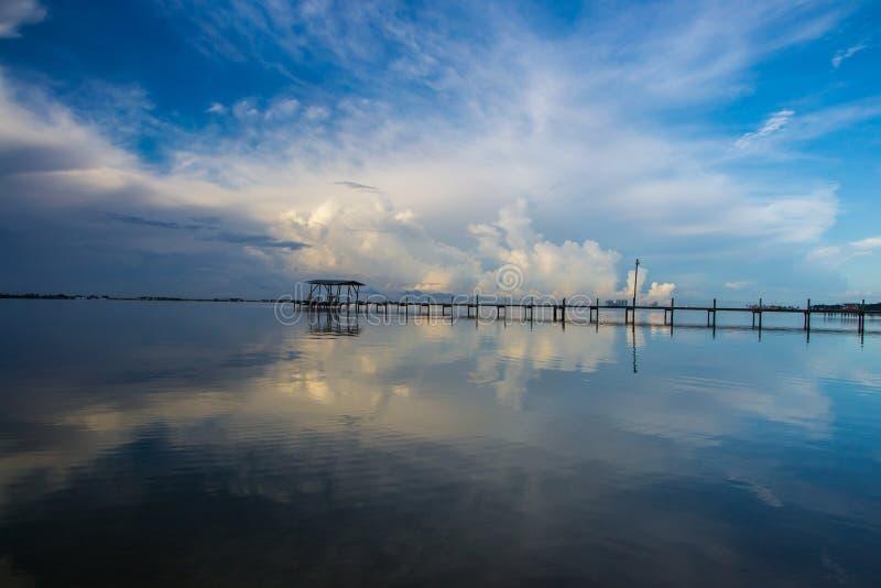 Alba di Florida fotografia stock