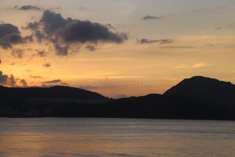 Alba - Hong Kong Island East immagine stock libera da diritti