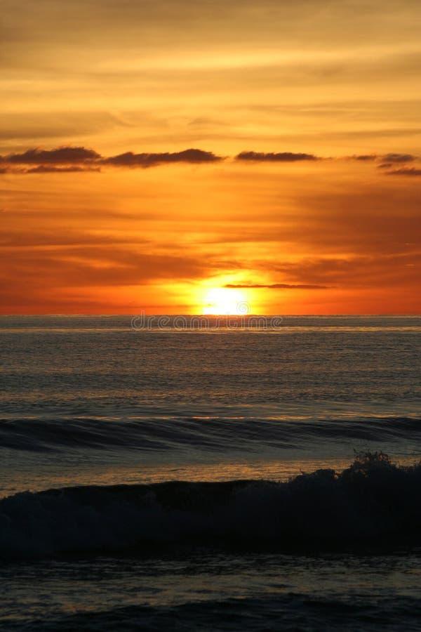 Alba in Isla Mujeres, Messico immagine stock libera da diritti
