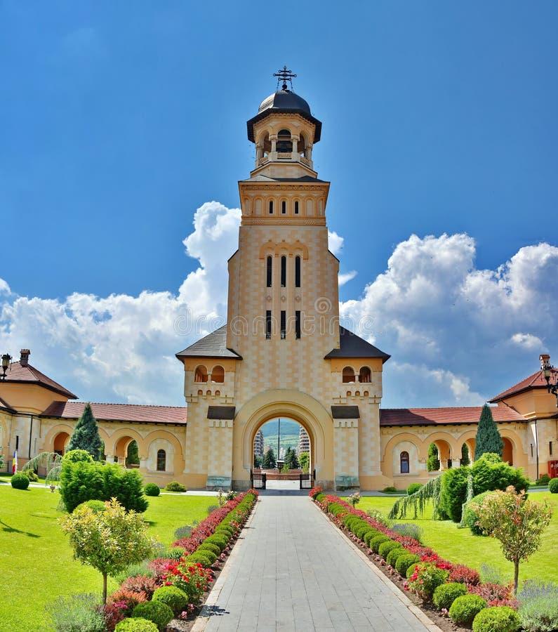 alba iulia собора правоверное стоковое фото