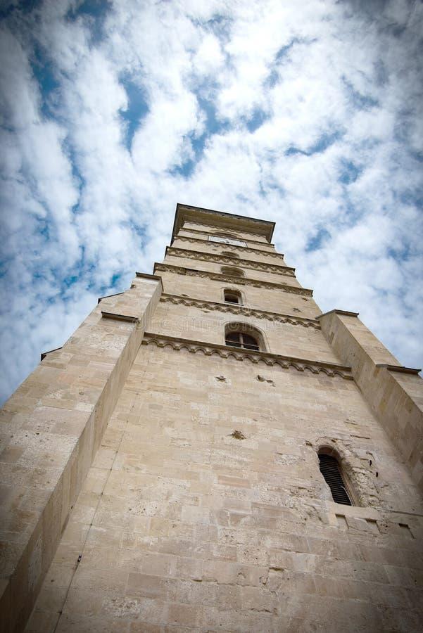 Alba Iulia citadel tower. Alba Iulia, Romania royalty free stock photo