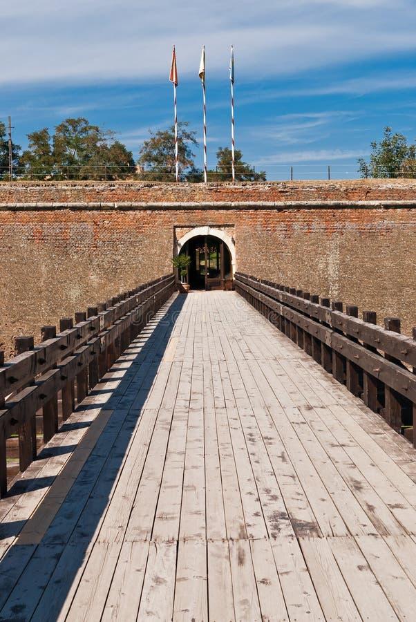 alba la iulia Каролины cetatea de крепости стоковое изображение rf
