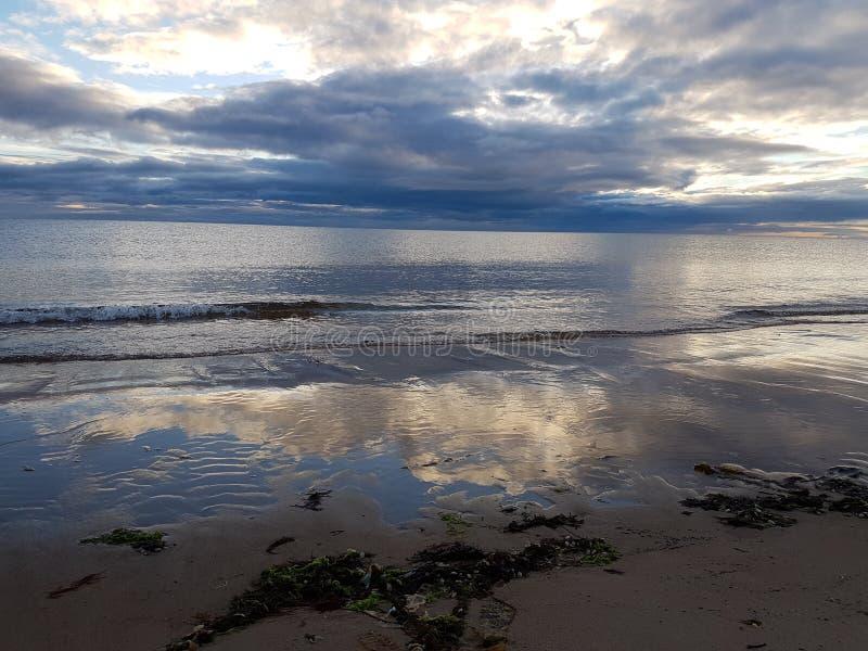 Alba a Lossiemouth fotografia stock libera da diritti