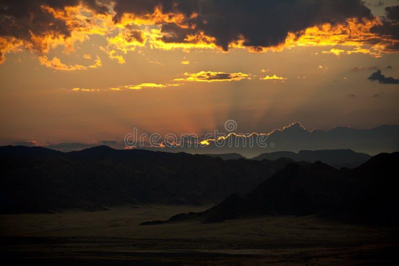 Alba - Namibia fotografie stock