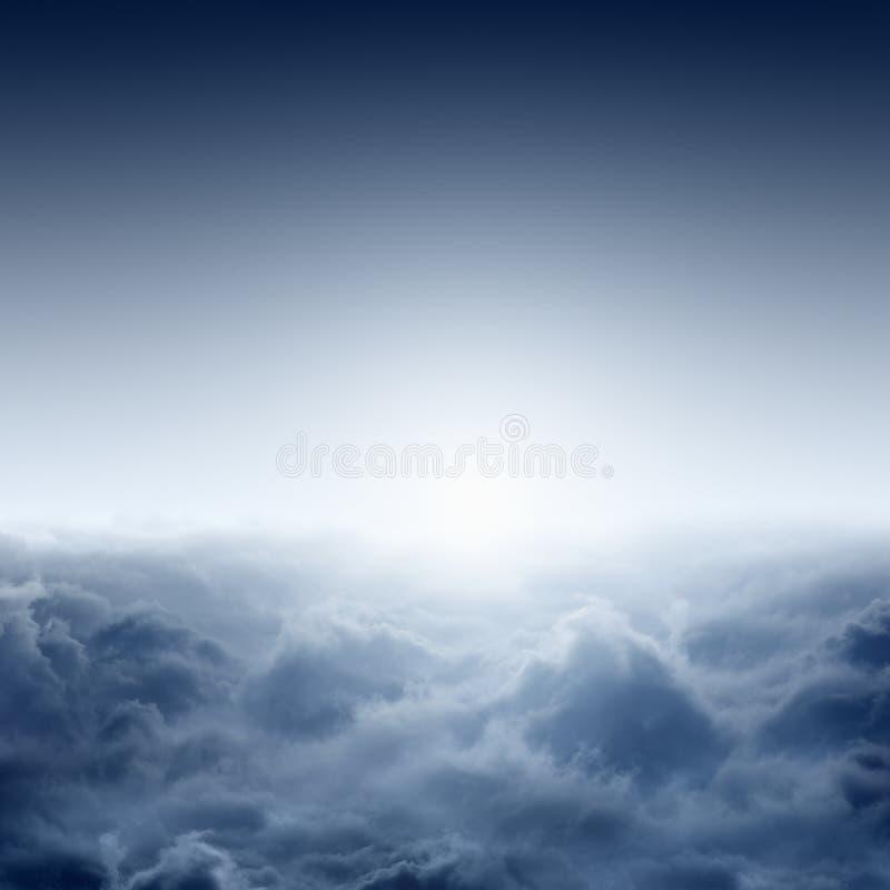 Alba nebbiosa immagine stock libera da diritti