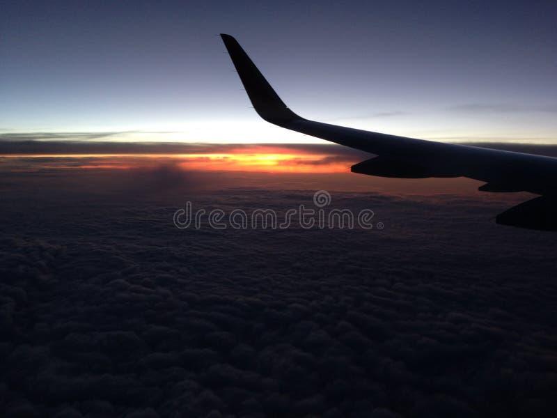 Alba nel cielo immagine stock