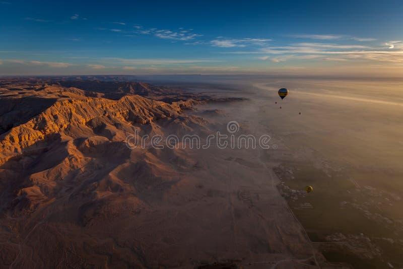 Alba sopra l'Egitto fotografie stock