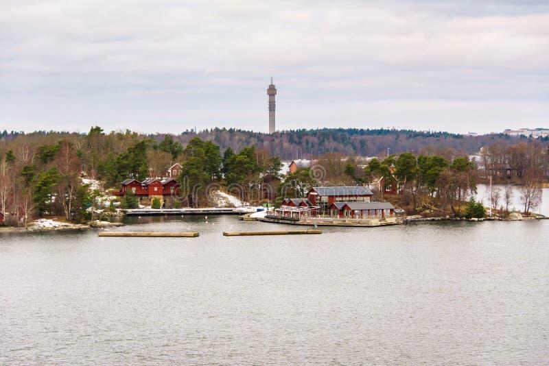 Alba sul Mar Baltico immagine stock