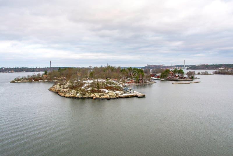 Alba sul Mar Baltico immagini stock