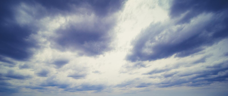 Alba variopinta fotografia stock libera da diritti