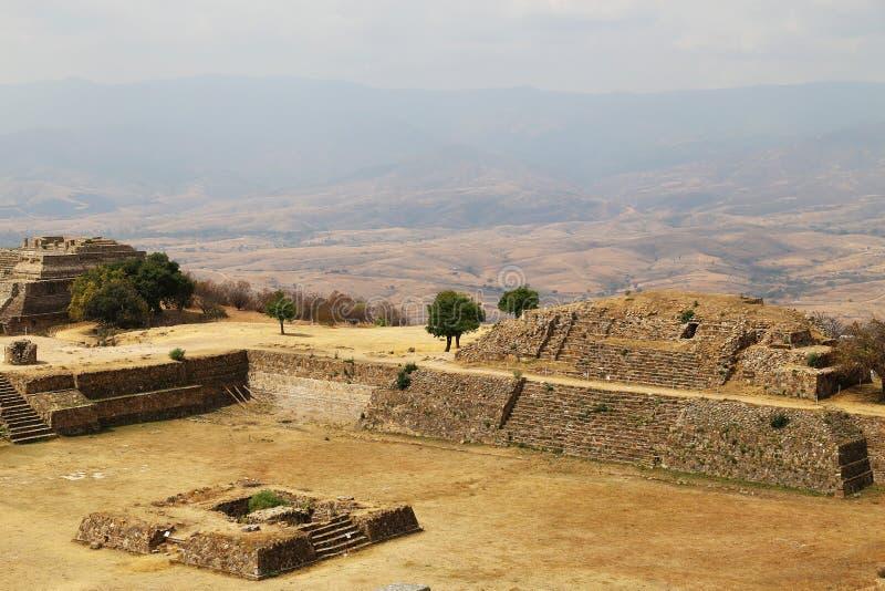 alban mexico monte oaxaca royaltyfri foto