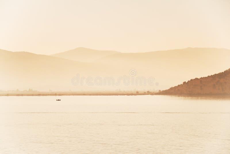 Albanese kust stock fotografie