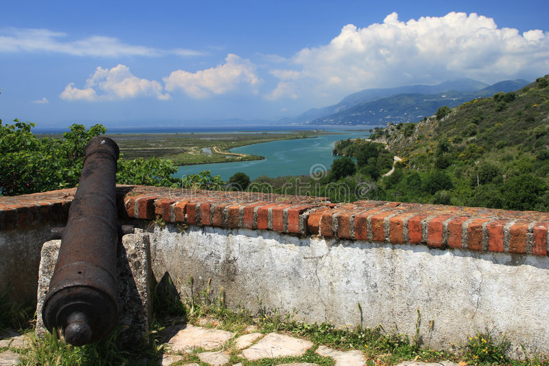 albania butrint obraz stock