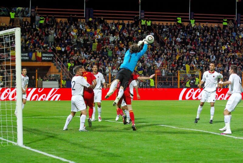 Download Albania Defends Against Romania Editorial Image - Image: 15901890