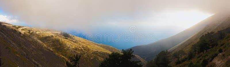 albania llogara przepustka obraz royalty free