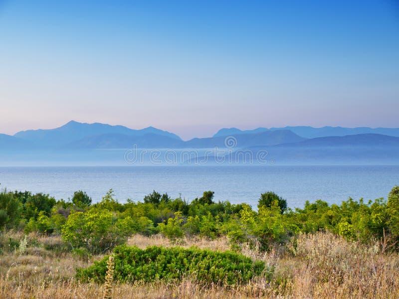 albanian berg fotografering för bildbyråer
