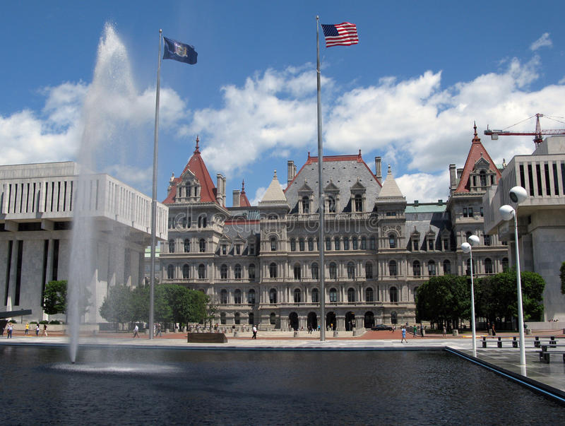 albany stan kapitałowy nowy York obrazy royalty free