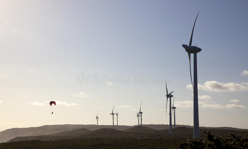 Albany Wind Farm stock images