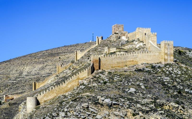 Albarracin Teruel, Espanha fotos de stock royalty free