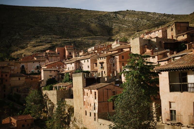Albarracin in Teruel, Spanien lizenzfreies stockbild