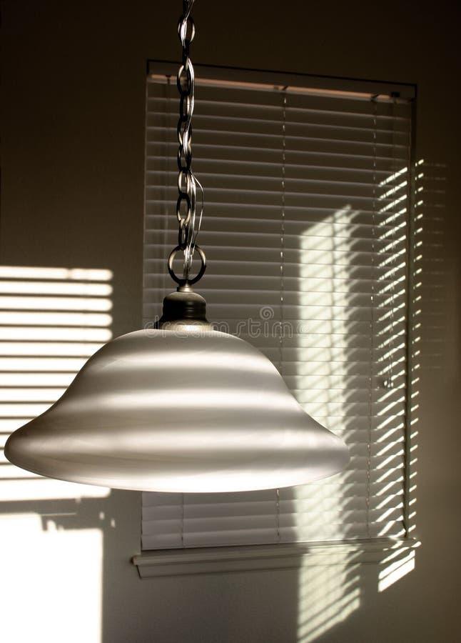 Albasten Lamp royalty-vrije stock afbeelding
