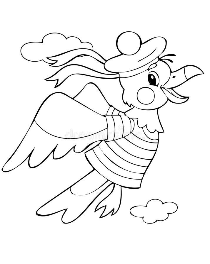 Albatros stock de ilustración