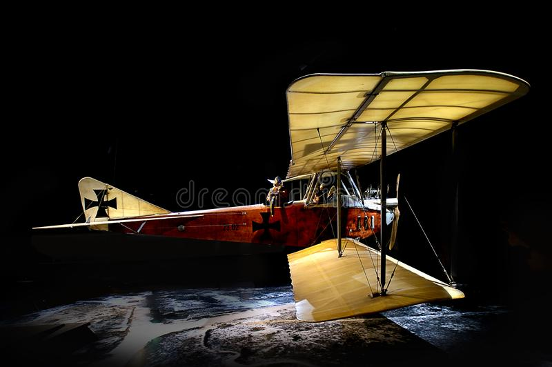 Albatros B. 11 (10) stock images