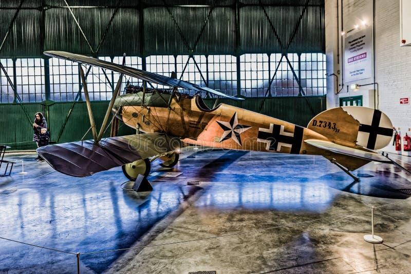 Albatros D Reproduction de Va chez RAF Museum images stock