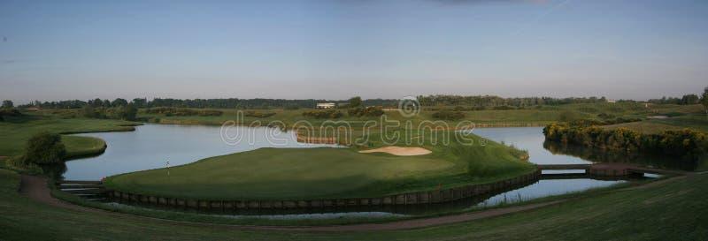 Albatros golf course, france stock photography