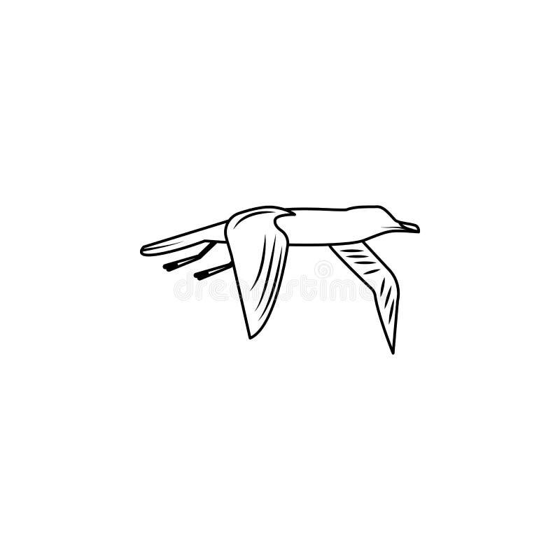 Albatross icon.Element of popular sea animals icon. Premium quality graphic design. Signs, symbols collection icon for websites, w. Eb design, on white vector illustration