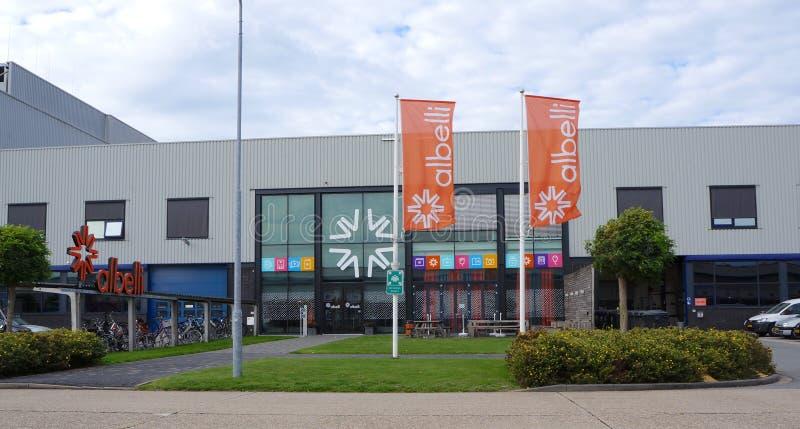 Albelli firmy budynek holandie zdjęcia royalty free