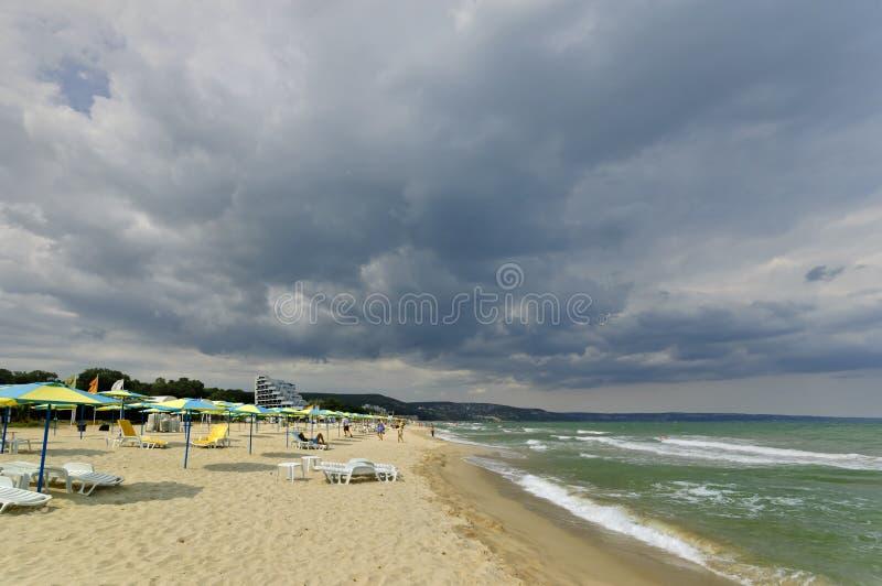 Albena - recurso de saúde em Bulgária fotografia de stock royalty free