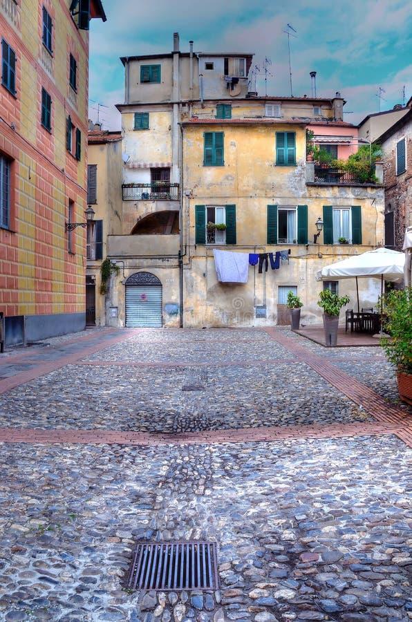 Albenga Italia imagem de stock