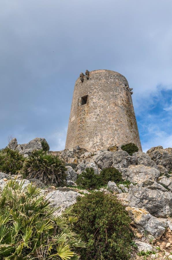 Albercutx-Wachturm stockfoto